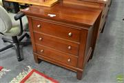 Sale 8515 - Lot 1039 - Drexel Bedside with Three Drawers (060355)