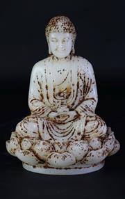 Sale 8902 - Lot 28 - A Composite White Buddha Figure (H21cm)