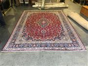 Sale 9006 - Lot 1045 - Hand Knotted Pure Wool Persian Kashan (400 x 280cm)