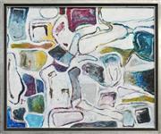 Sale 8411A - Lot 5036 - Thomas Clark (XX - ) - Untitled (Abstract) 100 x 121cm