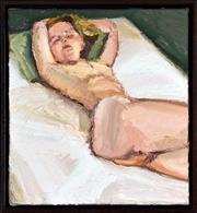 Sale 8408 - Lot 597 - Robert Malherbe (1965 - ) - Nude on White, 2003 30.5 x 28cm