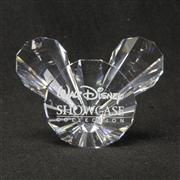 Sale 8412B - Lot 98 - Swarovski Crystal Mickey Mouse Face Outline with Box (Disney Showcase Collection) - Height 3.9cm