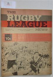 Sale 8404S - Lot 6 - 1966 Rugby League News Grand Final Programme, Sept 17 (Vol.47, No.36), St George v Balmain