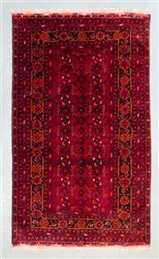 Sale 8472C - Lot 45 - Afghan Qunduzi 180cm x 105cm