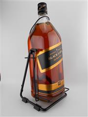 Sale 8498 - Lot 1745 - 1x Johnnie Walker 12YO Black Label Blended Scotch Whisky - 4500ml on cradle