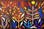 Sale 8715A - Lot 5007 - John Coburn (1925 - 2006) - Autumn, 1988 74.5 x 55cm