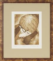 Sale 8762 - Lot 2029 - Frank Marjason - Reverie, 1991 47 x 40cm (frame size)