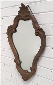Sale 9071 - Lot 1040 - Gilt Framed French Style Mirror (h:68 x w:43cm)