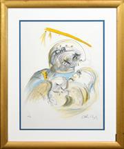 Sale 8316 - Lot 599 - Arthur Boyd (1920 - 1999) - Eugene Onegin 72 x 55cm (sheet size)