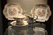 Sale 8327 - Lot 93 - Continental Hand Painted Tea Wares (AF)