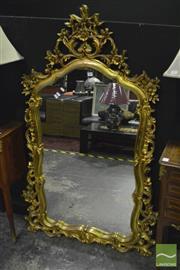 Sale 8368 - Lot 1009 - Ornate Gilt Framed Mirror