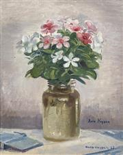 Sale 8704 - Lot 564 - Nora Heysen (1911 - 2003) - Still Life, 1962 40 x 33cm