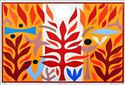 Sale 8723A - Lot 5035 - John Coburn (1925 - 2006) - Resurrection 48 x 72cm (frame size: 74 x 95cm)