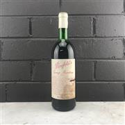 Sale 8933 - Lot 606 - 1x 1965 Penfolds Bin 95 Grange Hermitage Shiraz, South Australia - very high shoulder, stained label
