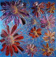 Sale 9034A - Lot 5066 - Constantine Popov (1965 - ) - Flower 153 x 153 cm (stretched and ready to hang)