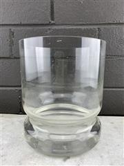Sale 9056 - Lot 1094 - Scandinavian Hooped AV229/11 Glass Vase, Probably Alsterfors (h:16.5cm)