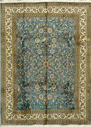 Sale 8321C - Lot 34 - Kashmiri Silk 215cm x 153cm RRP $5000