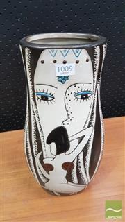 Sale 8383 - Lot 1009 - Australian Studio Pottery Vase