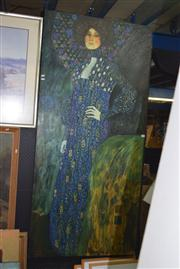 Sale 8410T - Lot 2028 - Artist Unknown (XX) - After Gustav Klimt 180 x 84cm