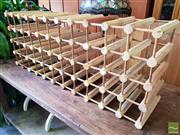 Sale 8480 - Lot 1092 - Timber Wine Rack