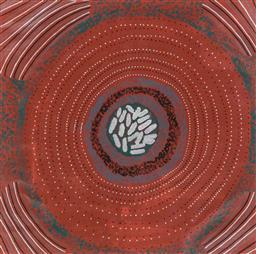 Sale 8743 - Lot 586 - Kevin Gilbert - Untitled, 2005 106 x 106cm