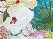 Sale 8791A - Lot 5050 - Denise Barry - Hibiscus 76 x 102cm