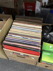 Sale 8819 - Lot 2425 - Box of LP Records, mainly Rock & Pop incl ACDC & Moody Blues