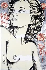 Sale 9034A - Lot 5033 - David Bromley (1960 - ) - Nude in pose 151 x 100 cm (173 x 124 x 5 cm)