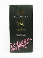 Sale 8423 - Lot 619 - 1x Yamazakura 16YO Blended Japanese Whisky - in box