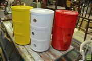 Sale 8431 - Lot 1040 - Set of 3 Plastic Bedsides