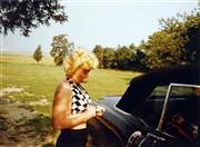 Sale 8722A - Lot 5073 - Eve Arnold (1912 - 2012) - Marilyn Monroe: Long Island, 1955 35 x 48cm (mount size: 72 x 54cm)