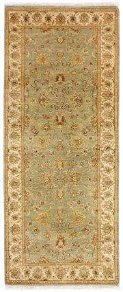 Sale 8626A - Lot 78 - A Cadrys Indian 'Elegance' Handspun Wool Carpet, Size; 185x76cm, RRP; $1400