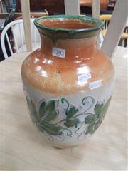 Sale 8676 - Lot 1303 - Italian Hand Painted Rinascimento Vase