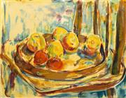 Sale 8696A - Lot 5037 - Nora Heysen (1911 - 2003) - Apples 42 x 53cm