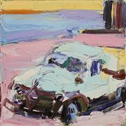Sale 8713 - Lot 533 - Craig Waddell (1973 - ) - The Truck 50 x 50cm