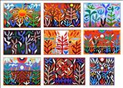 Sale 8723A - Lot 5018 - John Coburn (9 works) (1925 - 2006) - The Seasons, 1988 48 x 72cm; 72 x 48cm