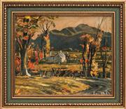 Sale 8824 - Lot 2049A - Theodore Kautzky (1896 - 1953) - Sunrise 22.5 x 28cm