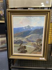 Sale 8914 - Lot 2048 - Wykeham Perry - Country Scene, oil, 58 x 48cm (frame), signed