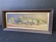 Sale 9053 - Lot 2062 - Artist Unknown - Floral Arrangement - Oil on Board 1907