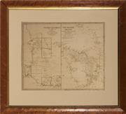 Sale 9082 - Lot 2027C - Antique Map of Western Australia and Van Diemens Island engraved by J & C Walker, published by Baldwin & Cradock, London, 1833 (fr...
