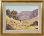 Sale 8374 - Lot 502 - Robert Wilson (1942 - ) - Sofala Landscape, 1977 44.5 x 59.5cm