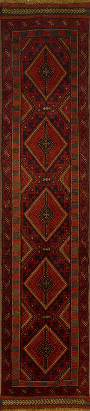 Sale 8406C - Lot 18 - Persian Sumac Runner 255cm x 60cm