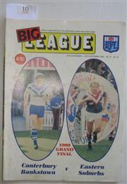 Sale 8404S - Lot 10 - 1980 Big League Grand Final Programme, Sept 24 (Vol.61, No.31), Canterbury v Easts