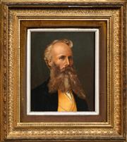 Sale 8449A - Lot 601 - C19th European School - Portrait of a Man 26.5 x 21.5cm
