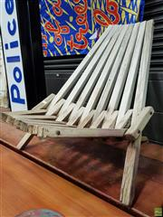 Sale 8585 - Lot 1062 - Deck Chair by Niels Peter Pontoppidan