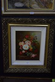 Sale 8569 - Lot 2011 - T Robinsons - Still Life 24 x 19.5cm
