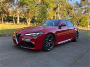 Sale 8620V - Lot 2 - Alfa Romeo Giulia Quadrifoglio                                      Body: Sedan ...