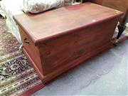 Sale 8657 - Lot 1058 - Timber Lift Top Trunk