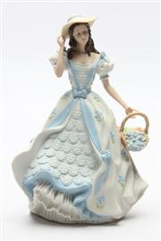 Sale 8685 - Lot 43 - Wedgwood Figurine Iris H:20cm