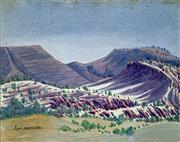 Sale 8808A - Lot 5011 - Enos Namatjira (1920 - 1966) - Central Australia 1954 28.5 x 39cm